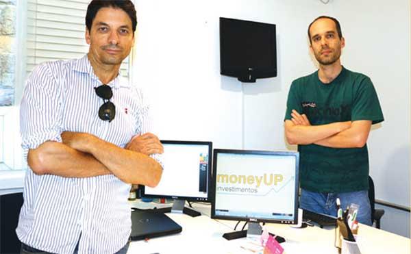 Milton Montanari e Rodrigo Mazzutti comandam a Money UP.