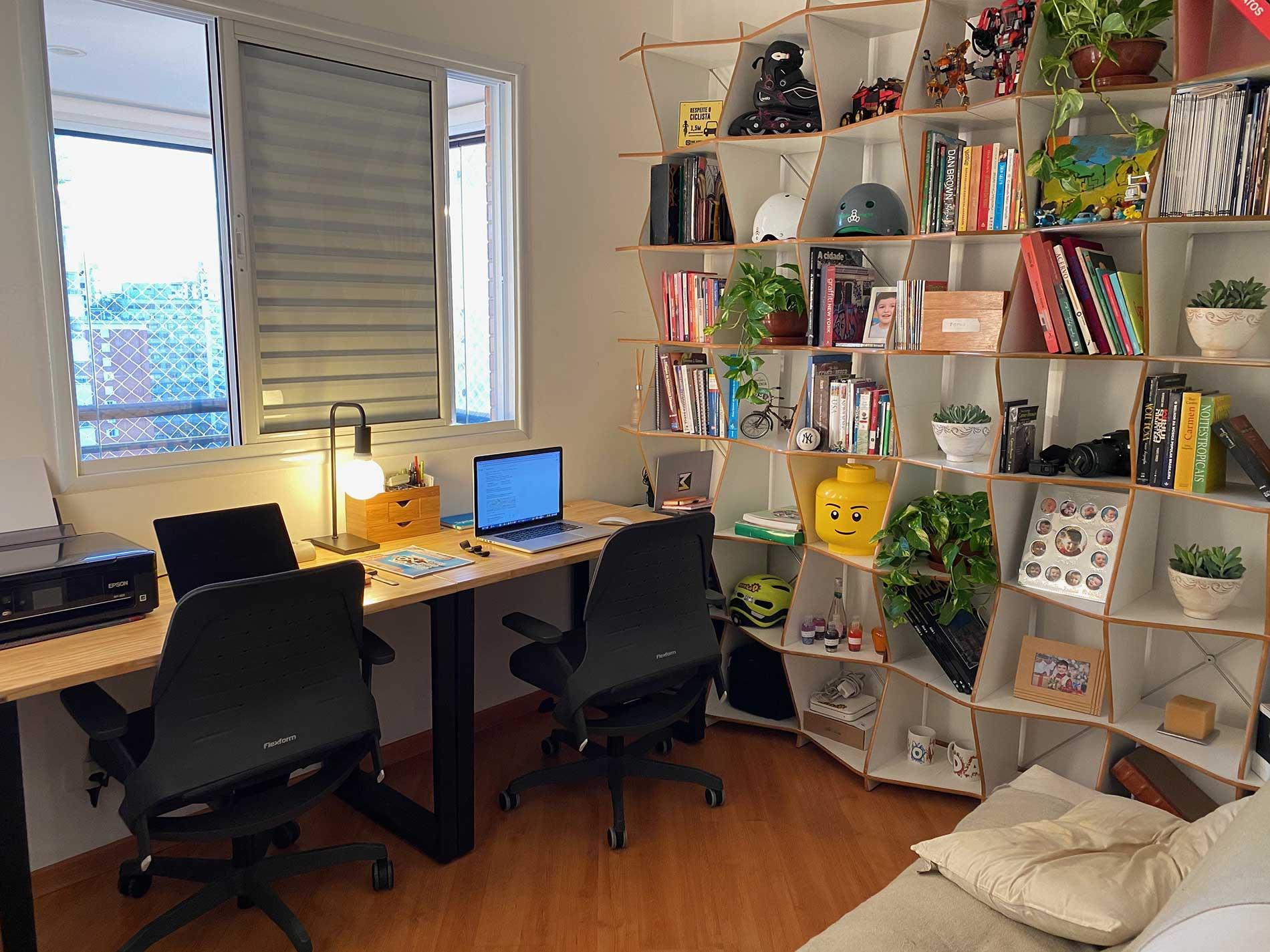Biofilia no Home Office