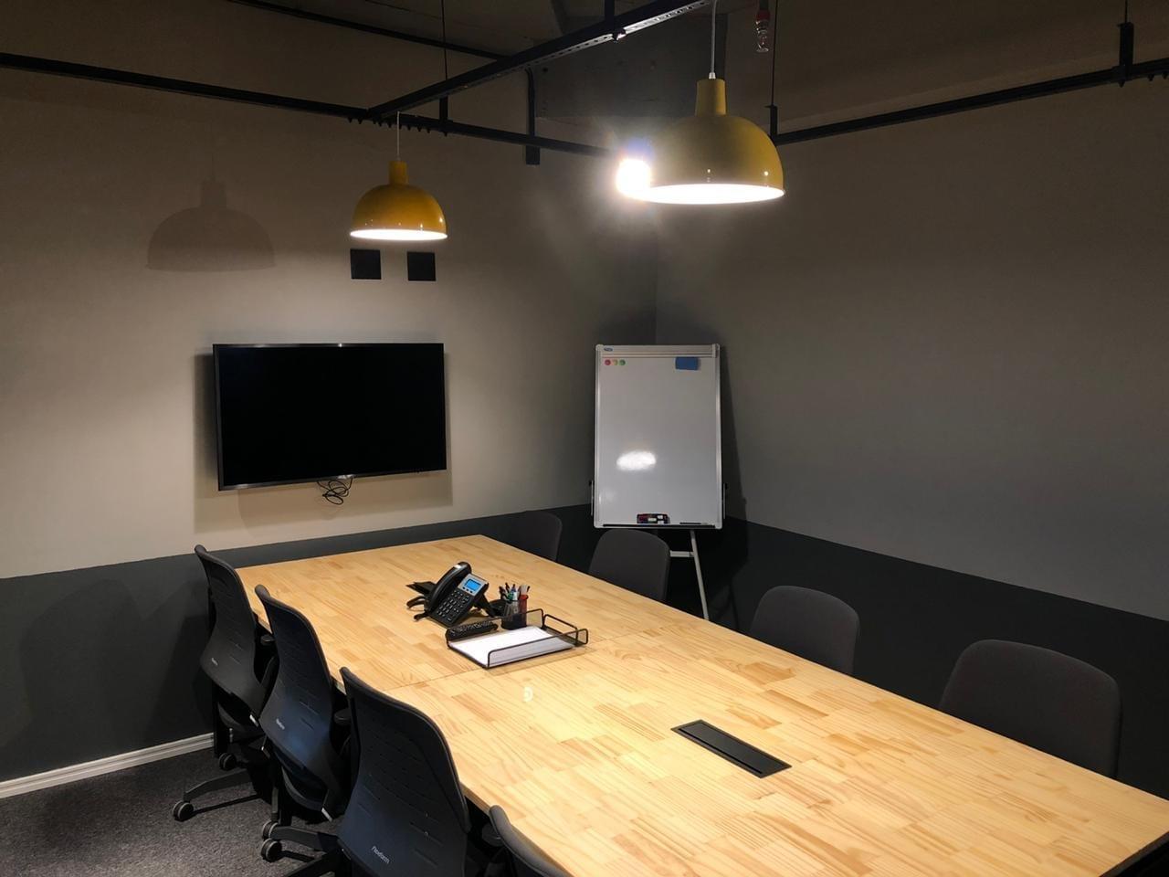 Sala de reunião em Campinas 9 pessoas