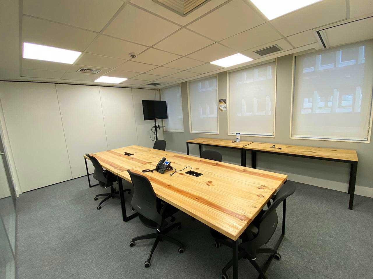 Sala de reunião na Paulista