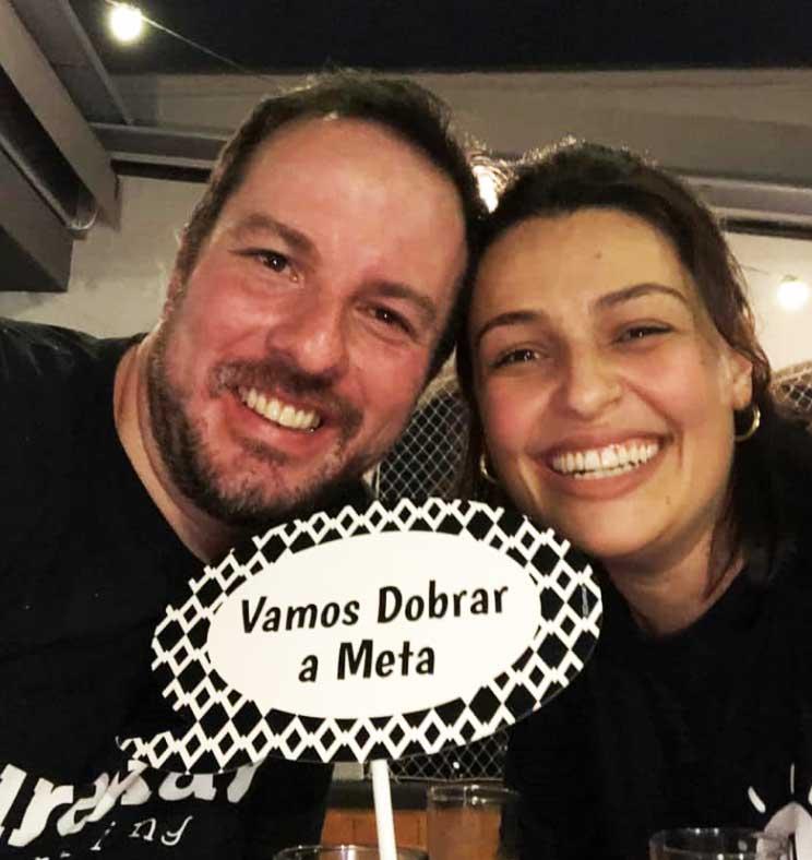 O Casal de empreendedores: Daniel e Fanny Moral