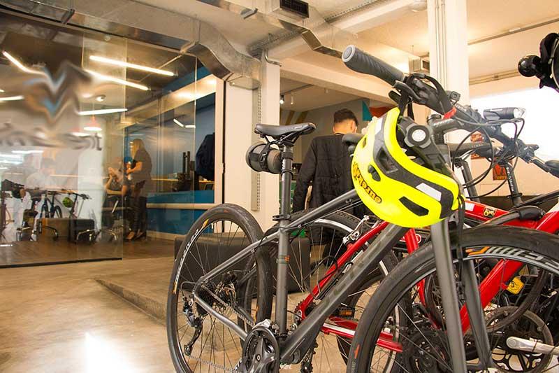 bicicletario coworking klabin