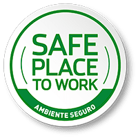 Certificado Safe Place to Work