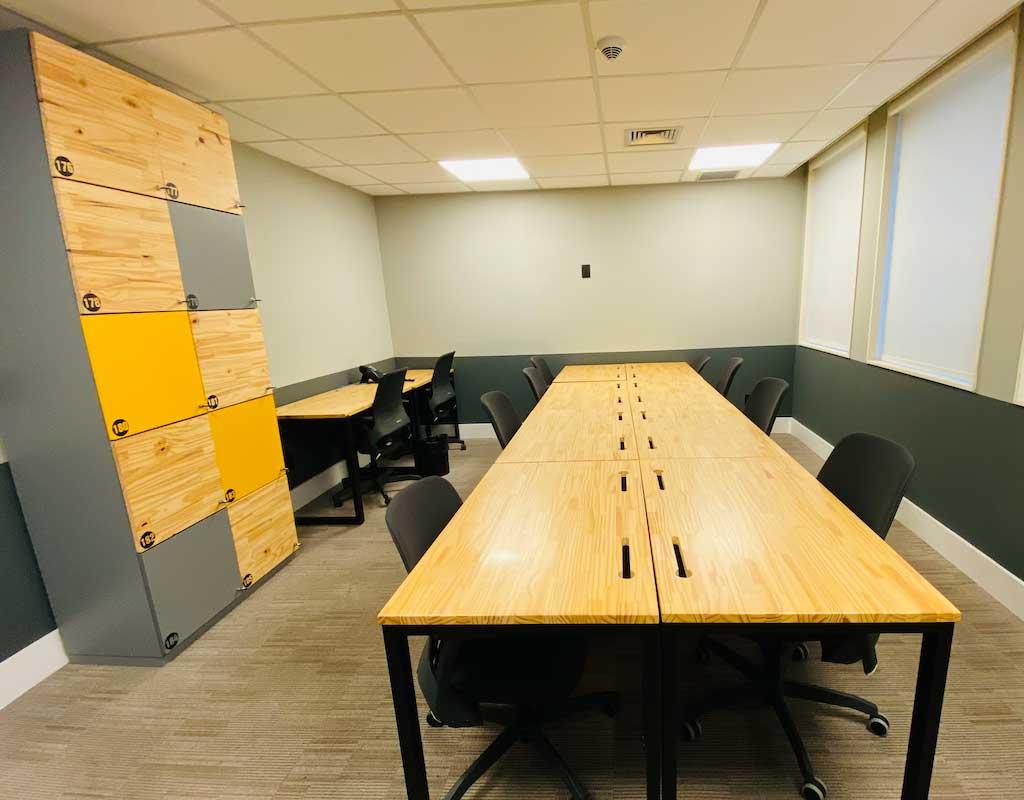 Sala privativa 10 pessoas